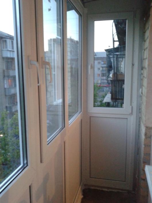 Остекление балкона 12