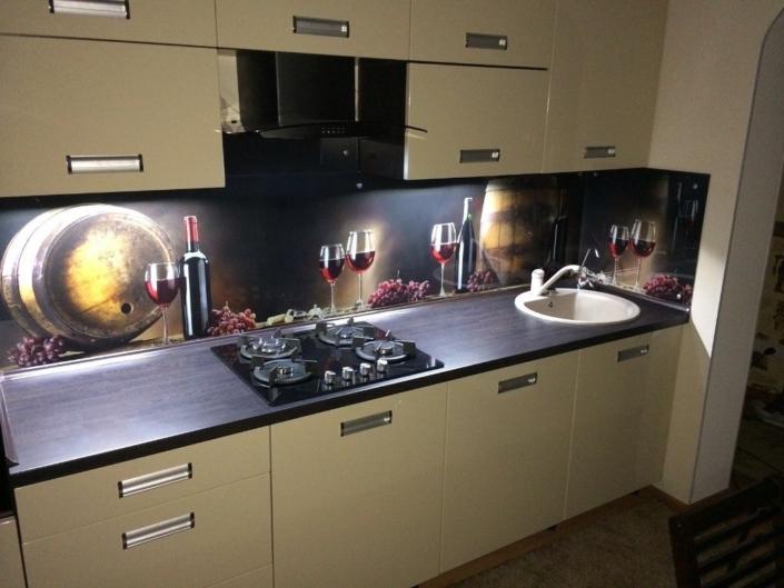 Бежевая кухня на заказ