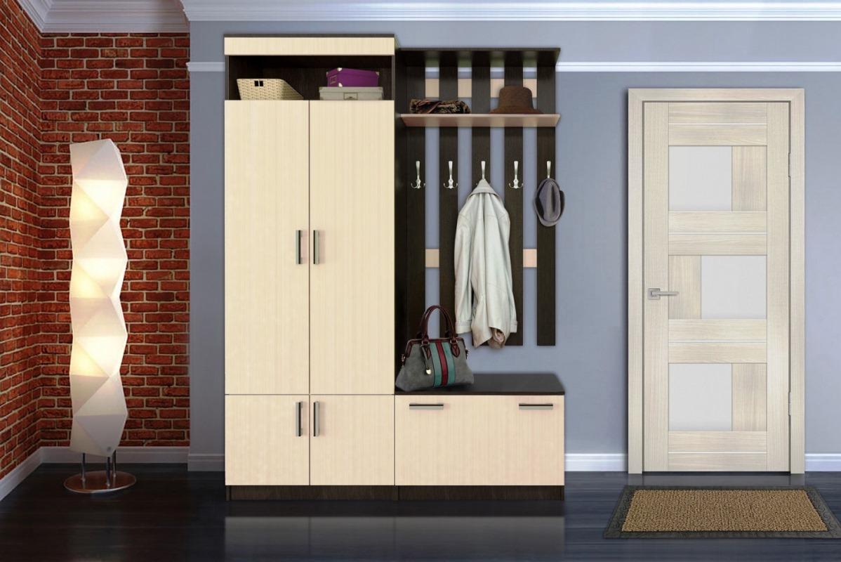 Прихожие и гардеробные комнаты на заказ