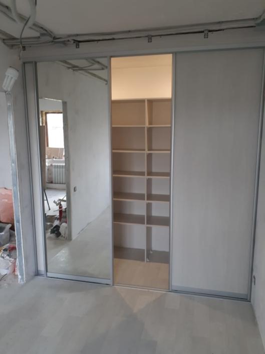 Гардеробная комната, встроенный шкаф-купе